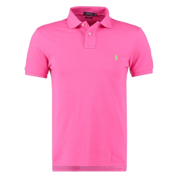 4f8bbd23d Polo by Ralph Lauren Shirts | Reserved Mens Polo By Rl Pink Short ...